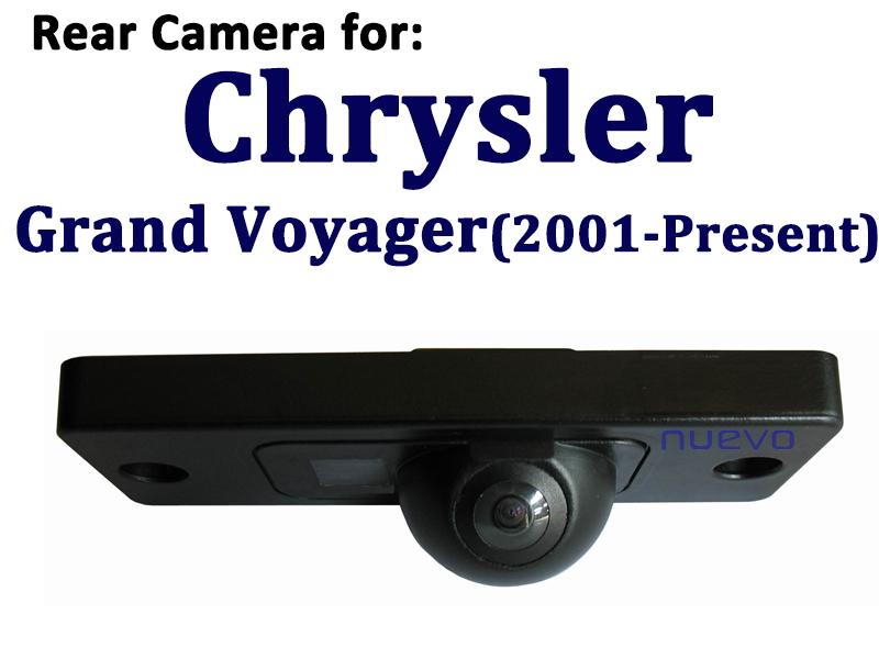 Reverse parking rear view camera chrysler grand voyager