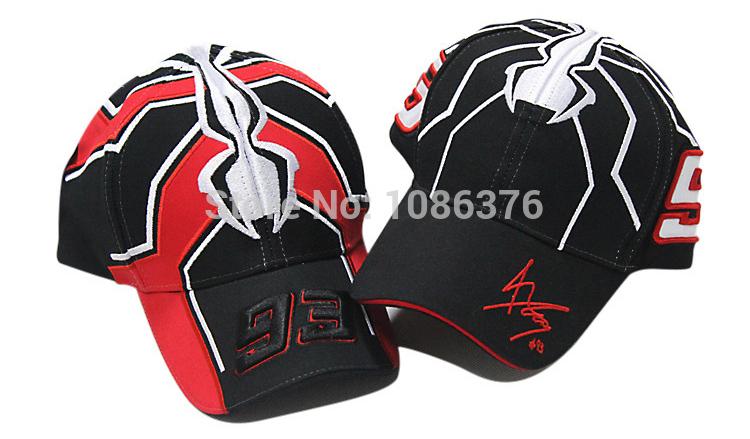 Luckly 93 car race fan love baseball cap fancy Racing motorcycle funs hat 2color 1pcs free shipping(China (Mainland))