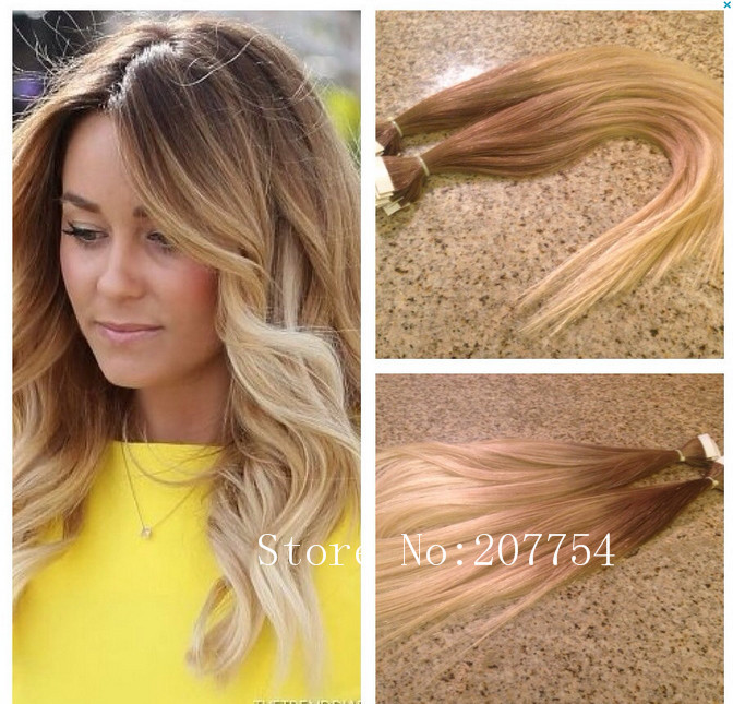 Skin Weft Extensions Ombre 116