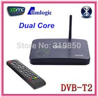 2014 DVB-T2 PVR Android TV BOX CS818II Media Player Amlogic Aml8726MX 1G/8G HDMI WiFi Smart IPTV Tuner DVB T2 Receiver