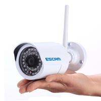 DHL FREE ESCAM Q6320 ONVIF 720P Mini IR-Bullet cctv Camera P2P 6MM FIXED LENS 1.0 Megapixel HD Network IR IP CAMERA 5pls/lot