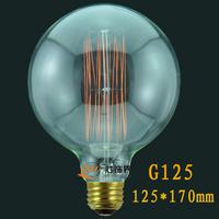 G125 40W E27 110V/220V antique edison bulb/vintage american brief novoltage retro edison bulbs light