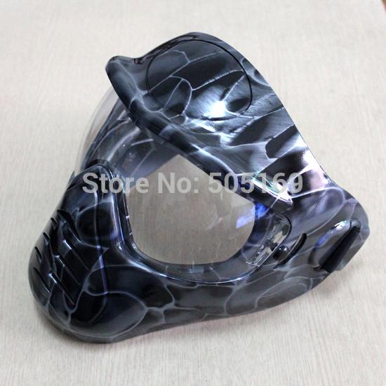 Save Phace Black Mamba Phat Series Airsoft Paintball Anti-Fog Lens Mask/Goggles New(China (Mainland))