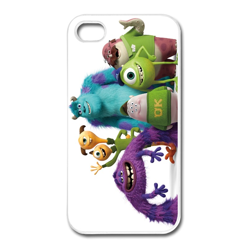 Design For Iphone Case 4 4s Monster University Funny Picture Covers For Iphone 4 Unique Design(China (Mainland))