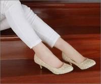 chf02 Stylish Lady high heels shoes Women pump dress shoes, women office shoes,