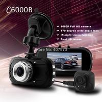 2014 Newest Full HD Car DVR 13mm 2.7'' 1080P 26fps 720P 29fps G-sensor Motion Detection Three Car Cameras Recorder In Stock