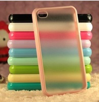 10pcs for Apple iphone 4/4s mobile phone shell candy colored matte TPU + PC Case Accessories Cases hot sale Classic following