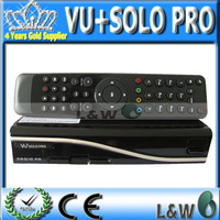 Free Shiping by fedex 2014 VU SOLO PRO,VU+ SOLO PRO DVB-S2 HD Linux Enigma2 Satellite Receiver NO CI Slot and Scart Connector