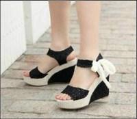 chf03 Stylish Lady wedge sandal shoes Women pump dress shoes, sexy women high heels sandals