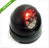 New Imitation dome Dummy Security Fake CCTV Camera with Flashing Red LED Light
