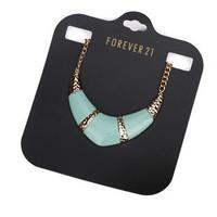Fashion Vintage Geometric Irregular Statement Chokers Necklace Blue Stone Punk Collar Necklace Free shipping