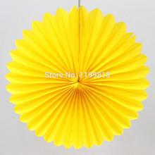 popular round paper fan