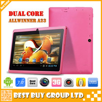 Free Shipping A23 MID Dual Core - Cheap Tablet PC A23 Q88 - 7 inch Capacitive Screen + Android 4.2 + Camera + Wifi + 1.5GHz
