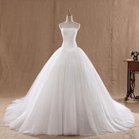 Зимняя длинными рукавами щели Вырез Рыба хвост платье невеста формальных платье свадебное