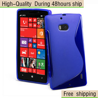 High Quality Wave S Line TPU Gel Case Cover For Nokia Lumia 929 930 Free Shipping UPS EMS DHL HKPAM CPAM YE-2
