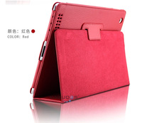 5pcs / Lot High Quality PU leather Smart Flip Cover Case for ipad2 / 3 / 4