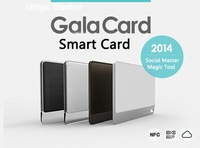 GalaCard C1 Cloud Service with QR Code NFC Smart Card for Function with NFC of Smart cellphone-Black