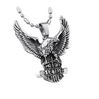 Fashion Accessories Vintage Retro Flying Eagle Cool Pendant Necklaces For Men Wholesale Price