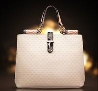 Crocodile Pattern Women Handbag 2015 Famous Brand Fringe Shoulder Bag Soft Leather Women Messenger Bags Tote Bolsa B498