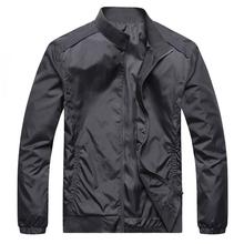 2014 Hot Sale Autum Casual Man Jacket Slim Thin Men Coat Outwear Plus Size  M L XL XXL XXXL Free Shipping MWJ259(China (Mainland))