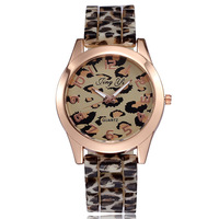 2014 Fashion Leopard Watch Analog Quartz Women Dress Watches leather strap watches women fashion luxury watch relogio feminino