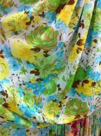 New style flower Spot supply 75d chiffon printed fabrics hot(China (Mainland))