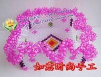 Diy handmade acrylic beaded crafts handmade finished beads watermelon fruit plate