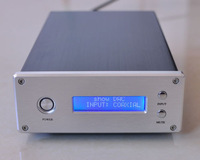Finished DAC Soft control display CS8416, 2X WM8741 in parallel DAC