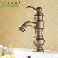 Unique Brass Bathroom Basin Faucet short neck polished water faucet. hot&cold basin sink Mixer XDL-1293