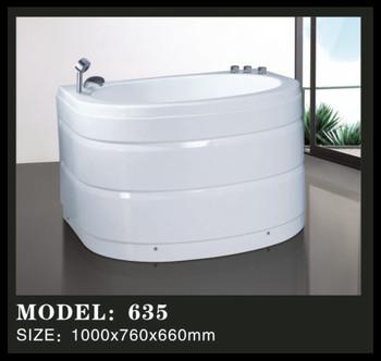 smallest size acrylic baby bathtub portable baby bathtub