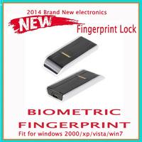 2014 Brand New electronics Security USB Mini Biometric Fingerprint  Fingerprint Reader Password Lock For Laptop PC Computer