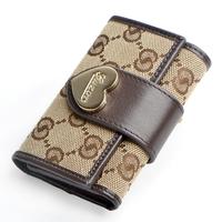 Guzor women's key wallet female fashion canvas multifunctional key wallet purse free shipping