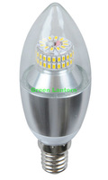 New Patent High Power 6W Dimmable Candle Bulb E14 6Watt
