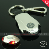 Free shipping Mazda, Mazda with lamp series of car key ring/buckle with right wing horse cx - 3-6-2-5-8 7 spot Christmas