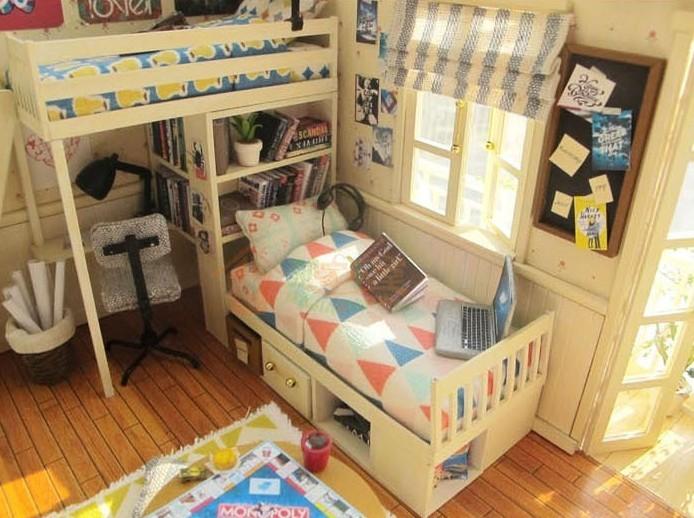 Сделать домик и мебель для кукол
