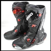 Botas Motorcycles Men New Model Motorcycle Boots Pro Biker Speed Racing Boots,motocross Boots,motorbike Size:40/41/42/43/44/45