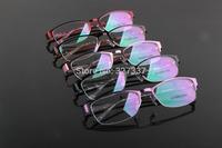 half rim women men extra light metal  glasses frame prescription eyewear optical myopia frame business women new arrival 2583