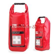 Free shipping outdoor emergency medical kits waterproof bag, first aid kit waterproof bag, travel health care waterproof bag(China (Mainland))
