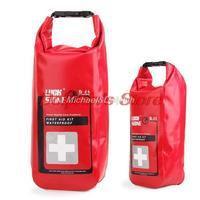 Free shipping outdoor emergency medical kits waterproof bag, first aid kit waterproof bag, travel health care waterproof bag