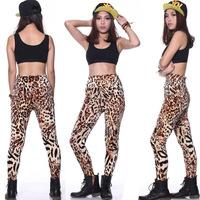 New winter Korea velvet leopard leggings pants factory direct wholesale Yiwu Leggings 2014