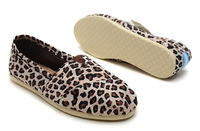High Quality Leopard Print Canvas Shoes For Women, Casual Women Flat Shoes Cheap Brand Summer Shoes Free Shipping
