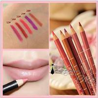 Waterproof Professional Lip Liner Pencil Long Lasting  5 Colors 15CM Lip liner pen makeup 1.9g Free Shipping