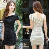 2014 summer new Korean Slim thin package hip dress women sexy dress free shipping