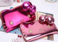 hot sale Women hello kitty wallet Zipper wallets Clutch Wallet For Many style Lady purse bag card