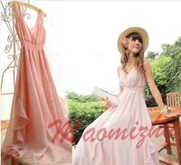 New 2014 Spring  Plus Size Women Fashion Women's Chiffon Summer Dress, Women Dress,Casual Dress, Dress