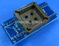 (5pcs/lot) PLCC44 to DIP40  IC testing seat adapter Programmer adaptation seat