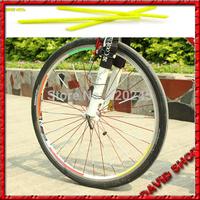 2014 Promotional Models Warning of road mountain Bike Steel Szymborska Article  Colorful ABS Reflective Spokes Dropshipping