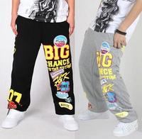 New 2014 Mens Pants Hip Hop Pants Basketball Pants Sport Brand Men's Clothing Plus Size XXXL Black Gray Free Shipping