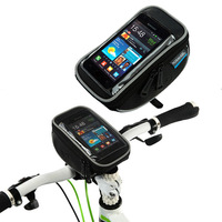 1PC Super Quality Roswheel Bicycle Handlebar Touch Screen Phone Bag & Bike Touch Control GPS Phone Bag