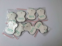 freeshipping 50pcs/lot good quality Electrode Pads for Tens Acupuncture,Digital Therapy Machine Massager
